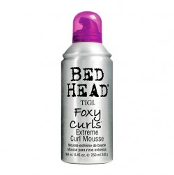 TIGI Foxy Curls Extreme Curl Mousse250ml - PHP1,300.00Make styling curly hair easier by applying this mousse that offers definition and assures hold while fighting the frizz