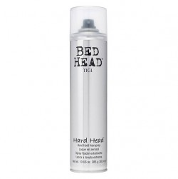 TIGI Hard Head Hairspray385ml - PHP1,300.00For unbeatable hold and control. Thishair spray is designed to dry instantly upon application. It gives your hair a shine boost for healthy looking strands.
